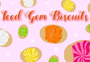 First Food Biscuit Iced Gem Biscuit post
