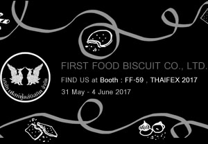 First Food Biscuit ThaiFex post